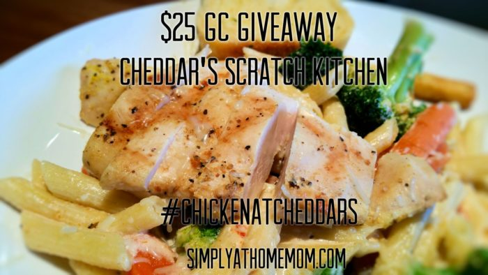 Cheddar's $25 Gift Card Giveaway