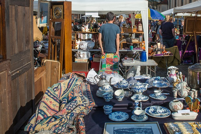Looking for These Flea Market Items? You Better Come Early