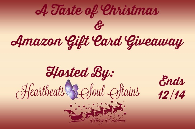 A Taste of Christmas & Amazon Gift Card Giveaway + HOP