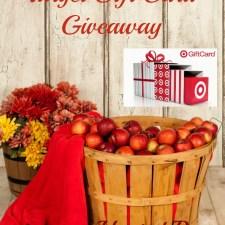Harvest Blessings Target Gift Card Giveaway + HOP
