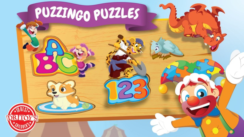 Puzzingo Puzzles Kids Learn While Playing