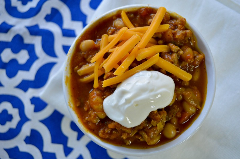 Slow Cooker Pumpkin Chili is an easy and delicious meal everyone in your family will love!  Use our easy recipe to make this healthy meal for your family!