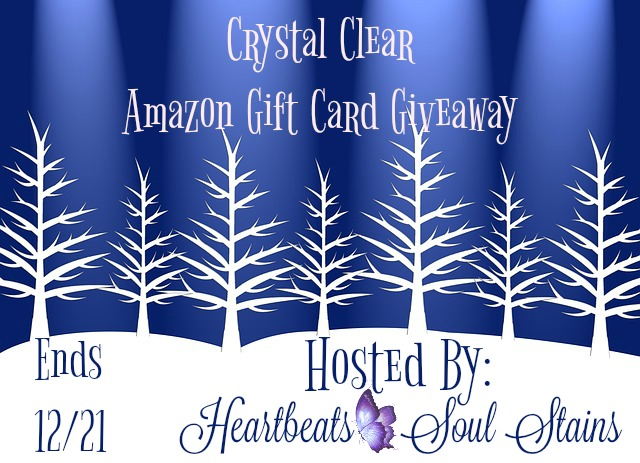 Crystal Clear Amazon Gift Card Giveaway
