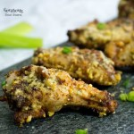 Cajun Crispy Baked Chicken Wings