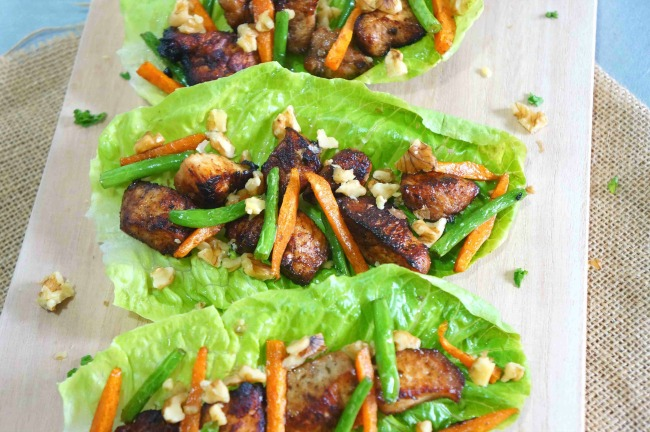 Chicken & Bacon Lettuce Cups are so much fun to make and even better to fill with tasty food! Your family will love when you make these! Check out our tips!