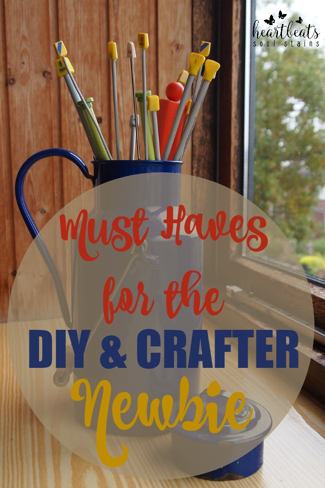 If you are wanting to get crafty but are new to Do it Yourself there are some Must Have Supplies for The DIY Newbie. All of these supplies will be used over and over again for all your crafting needs.