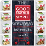Good Food Made Simple Giveaway! 1 Lucky Winner @GFMSimple
