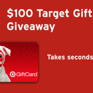 Dropprice $100 Target Gift Card Giveaway