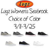 Lugz Women's Seabrook Shoes Giveaway