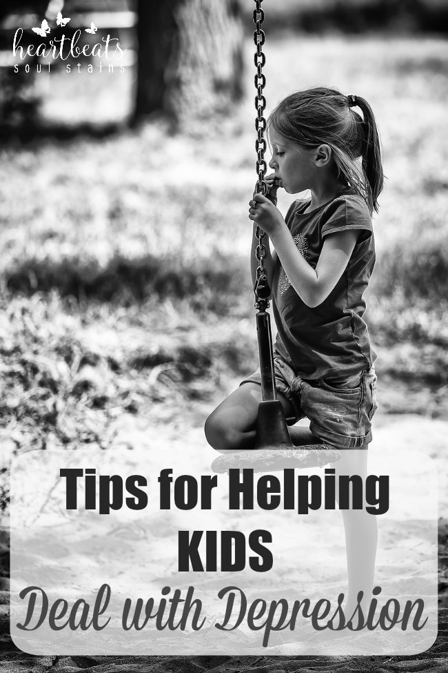 Tips For Helping Children And Teens Deal With Depression