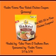 Foster Farms New Baked Chicken Coupon Giveaway!