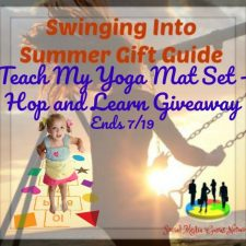 Teach My Yoga Mat Set – Hop and Learn Giveaway