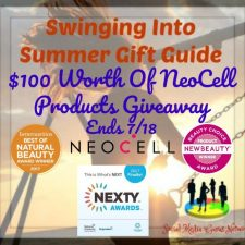 $100 Worth Of NeoCell Products Giveaway