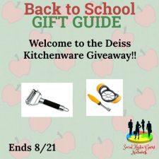 Deiss Kitchenware Giveaway!!