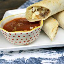 Freezer-Friendly Breakfast Taquito Recipe