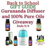 Gurunanda Diffuser and 100% Pure Oils Giveaway