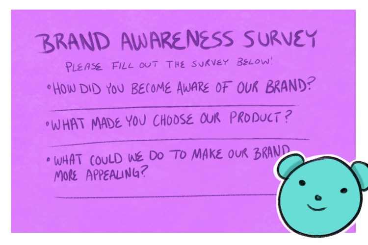 creating a survey is a great way for how to measure brand awareness