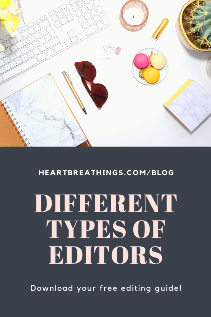 Different Types of Editors For Your Novel