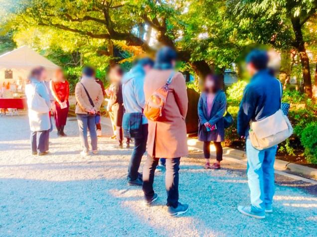 紅葉旧古河庭園〜ライトアップ六義園01