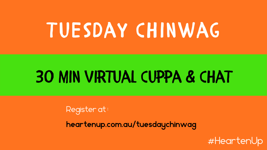 Tuesday Chinwag virtual cuppa to stay connected