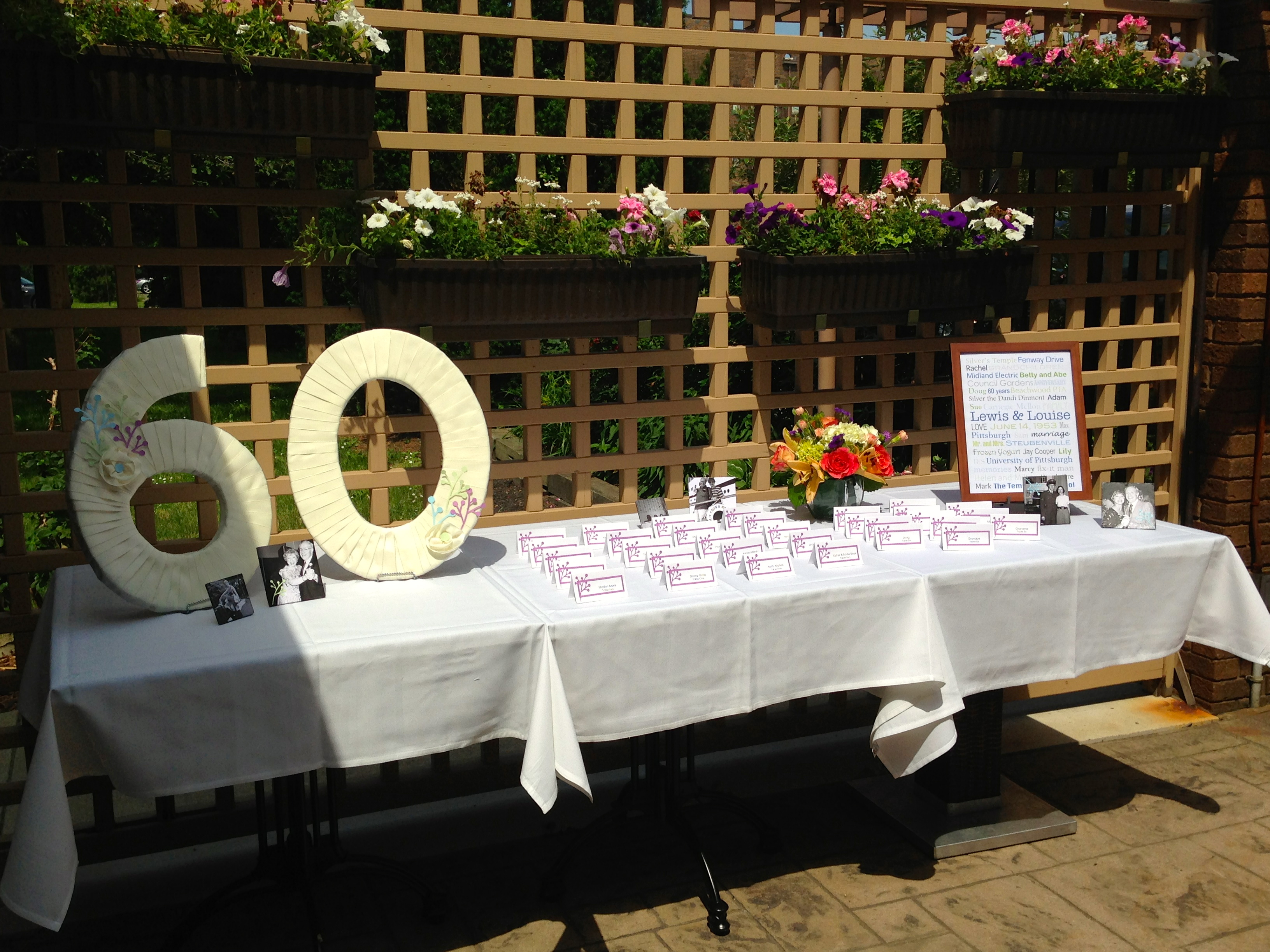 DIY Wednesday: 60th Anniversary Party