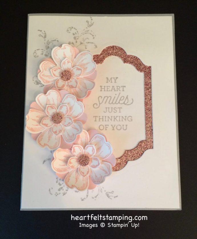 Stampin Up Flower Shop Friendship cards idea - Rosanne Mulhern stampinup