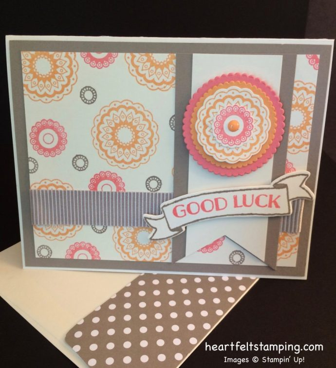 Stampin Up Paisley & Posies card ideas - Rosanne Mulhern stampinup