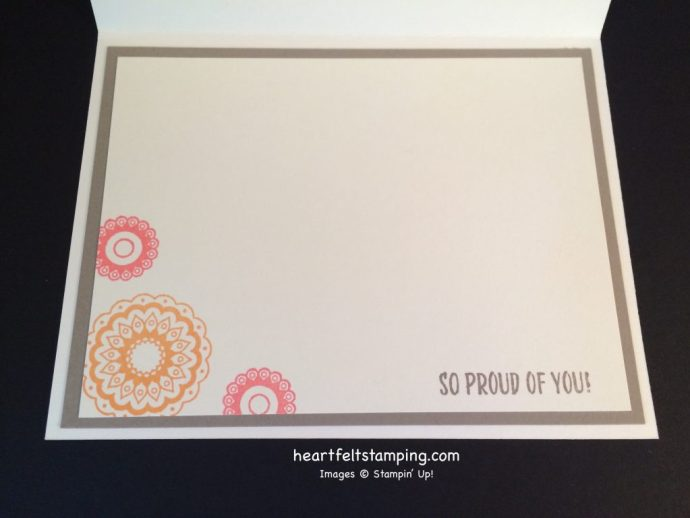 Stampin Up Paisleys & Posies cards ideas - Rosanne Mulhern stampinup