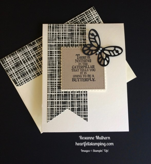 Stampin Up Butterfly Basics Friendship Cards idea - Rosanne Mulhern stampinup