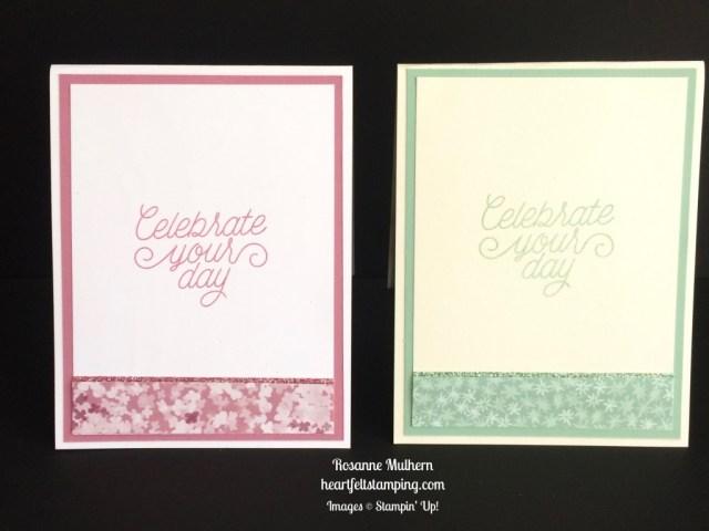 Stampin Up Butterflies Birthday card idea - Rosanne Mulhern stampinup