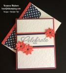 Stampin Up Birthday Blast Birthday Card - Rosanne Mulhern