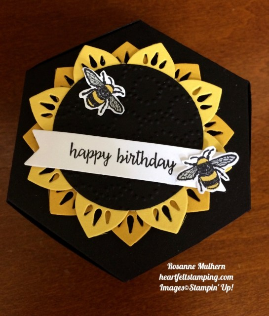 Stampin Up Eastern Medallion and Window Box Birthday Gift Set - Rosanne Mulhern stampinup