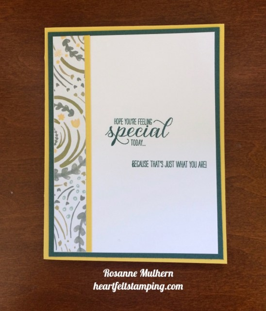 Stampin Up Grown with Love Friendship Cards Ideas - Rosanne Mulhern