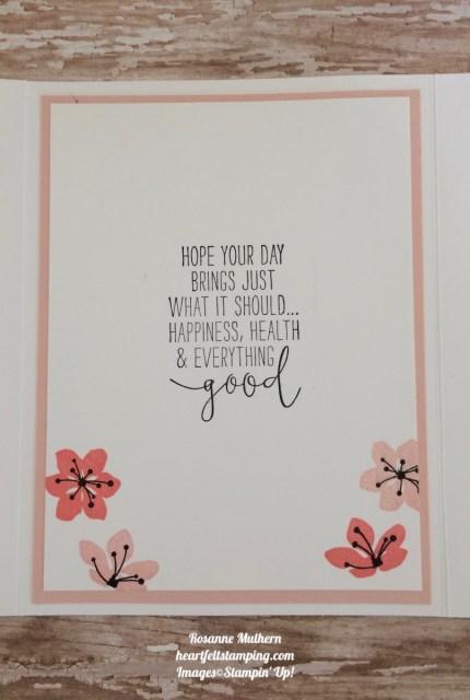 Stampin Up Colorful Seasons Gatefold Birthday Cards Idea- Rosanne Mulhern