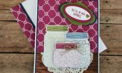 Stampin Up Jar of Love friendship cards ideas - Rosanne Mulhern