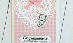 Baby Card for Tic Tac Toe Challenge - Rosanne Mulhern