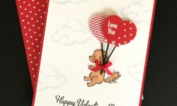 Stampin Up Bella and Friends Valentine Card - Rosanne Mulhern