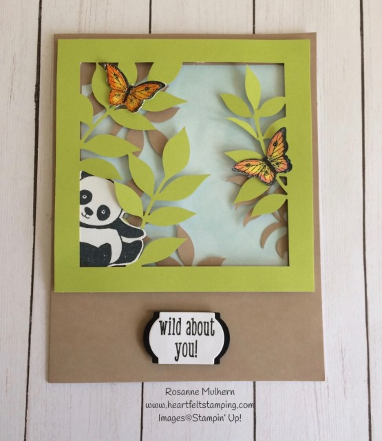 Stampin Up Paper Pumpkin Alternate Project with Party Pandas - Rosanne Mulhern