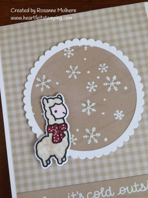 Tic Tac Toe Challenge Cards- Lawn Fawn - Rosanne Mulhern
