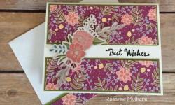 Stampin Up Sweet Soiree Birthday Card - Rosanne Mulhern
