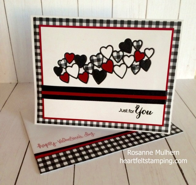 Stampin Up Meant to Be Valentine Card - Rosanne Mulhern Heartfelt Stamping