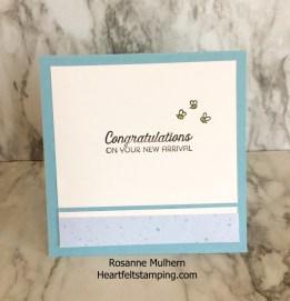 Baby Cards-Rosanne Mulhern Heartfelt Stamping