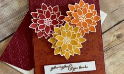 Stampin Up Flourishing Phrases Thanksgiving Card Idea - Rosanne Mulhern stampinup