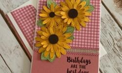 Stampin Up Daisy Lane Birthday Card Idea- Rosanne Mulhern stampinup