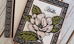 Good Morning Magnolia Thinking of You Card Idea -Rosanne Mulhern stampinup