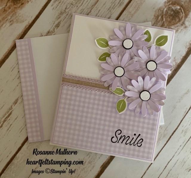 Daisy Lane Friendship Card Ideas-Rosanne Mulhern stmpinup