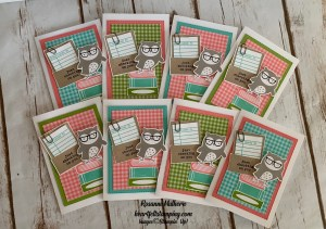 Stampin Up Check You Out Thinking of You Card - Rosanne Mulhern stampinup