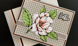 Stampin Up Good Morning Magnolia Friendship Card Idea - Rosanne Mulhern stampinup