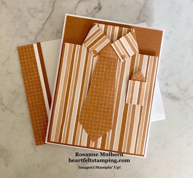 Stampin Up Flowers for Every Season Masculine card idea - Rosanne Mulhern stampinup