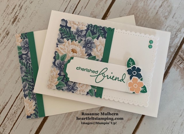 Stampin Up Lovely You Note Card Gift Set - Rosanne Mulhern stampinup